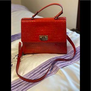 Kate Spade New York Doris Croc Embossed Bag.